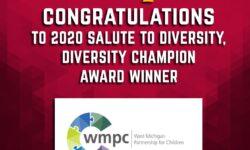 WMPC receives 2020 Salute Diversity Award by Corp! Magazine